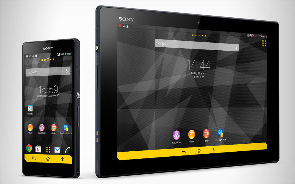 Sporty Theme for Sony Xperia