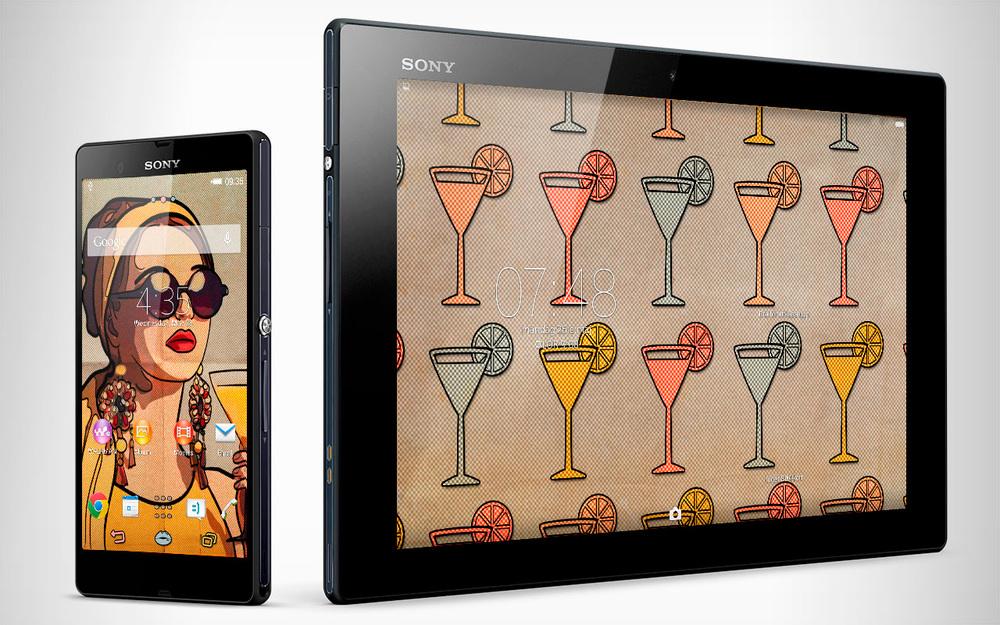 SONY Xperia™ theme RetroPopArt