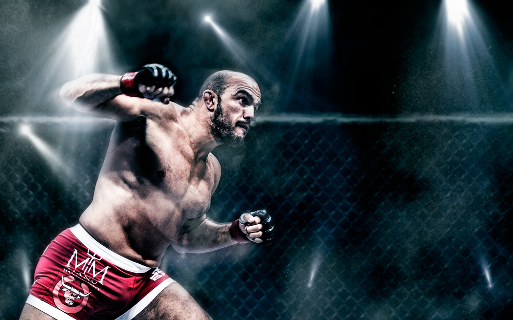 Mikz - Ilir Latifi - The Sledgehammer - Ringside