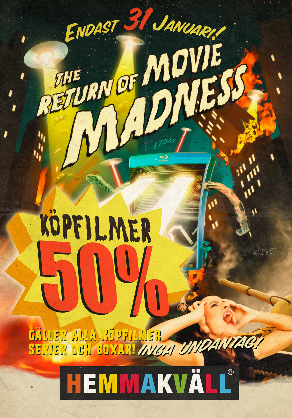 The Return of Movie Madness Artwork Poster
