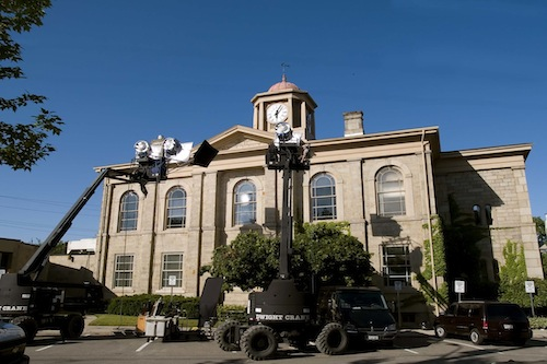 Dundas_Town_hall_film_set.jpg