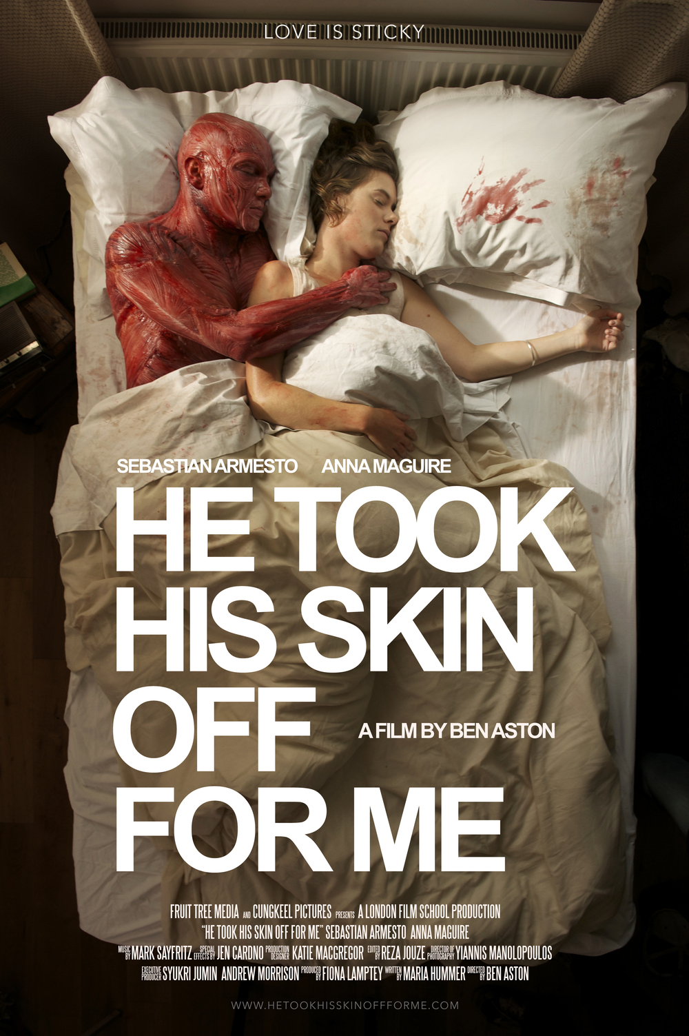 Ben Aston He Took His Skin Off For Me Poster Film