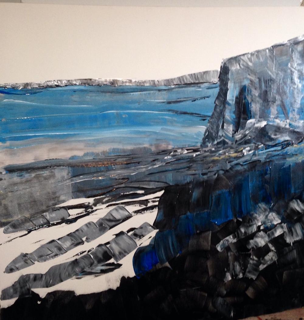 """Blue Cliff"" 2015"