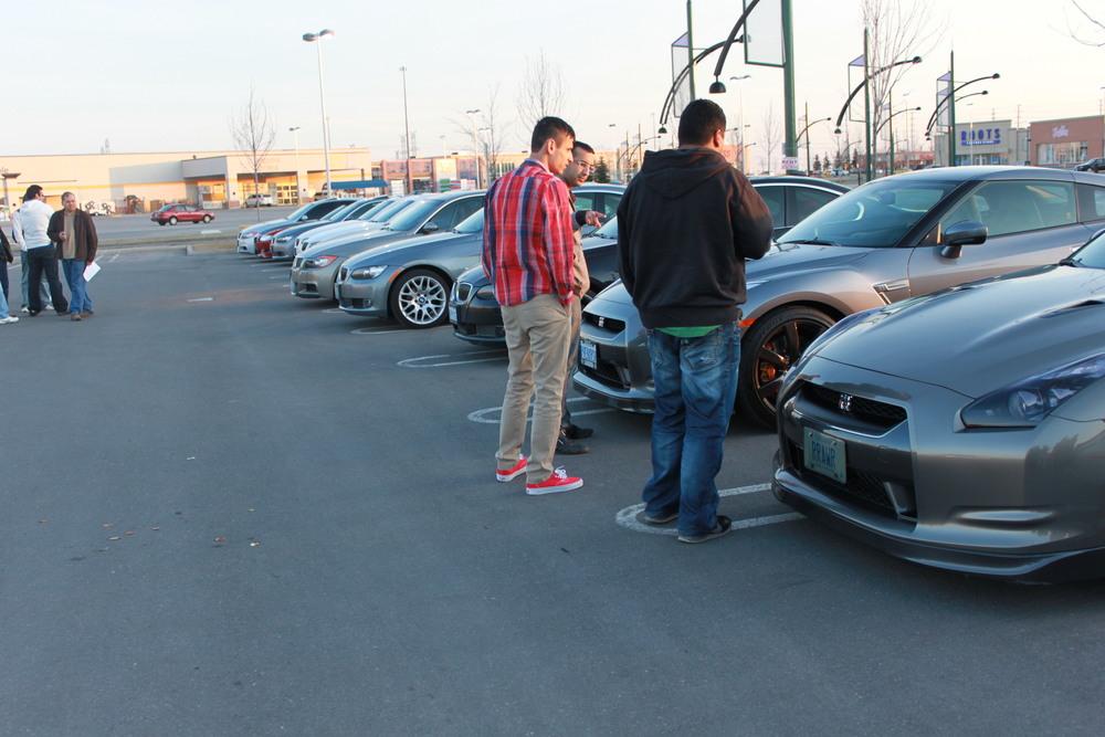 Nissan GTR meet in GTA