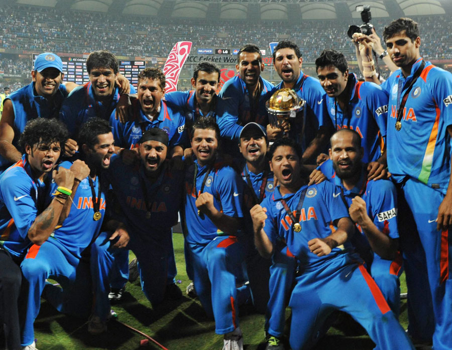 Indian cricket team - WC 2011
