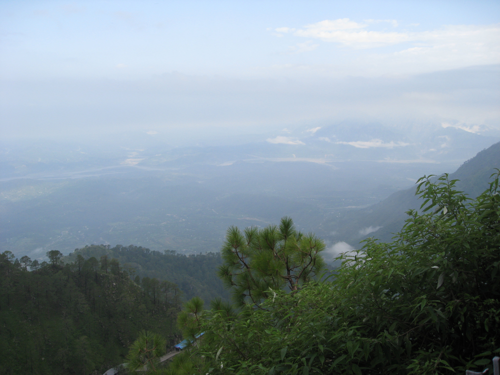 The view from almost the top by Vaishnoo Devi