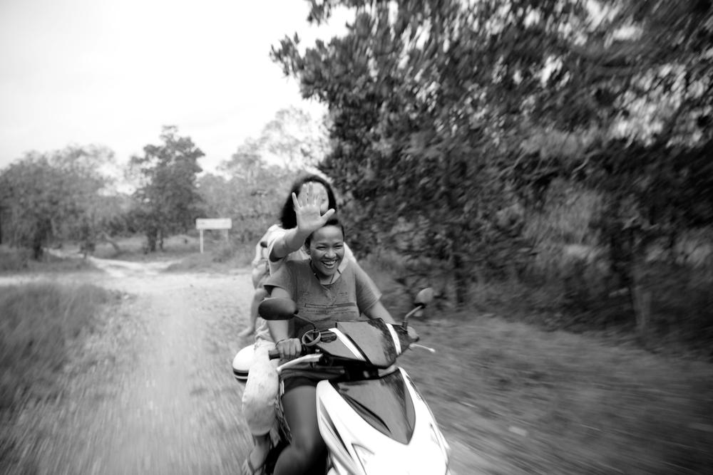 two adventuremates- Gaye and Sara.