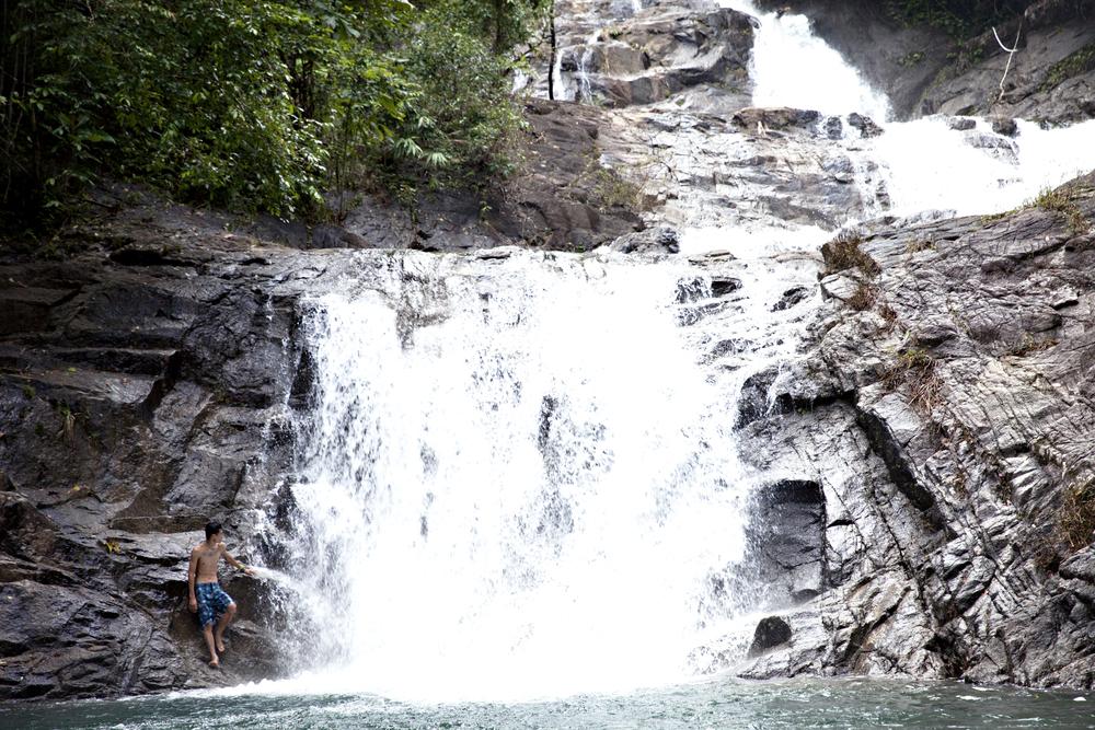 Lampi Waterfall.