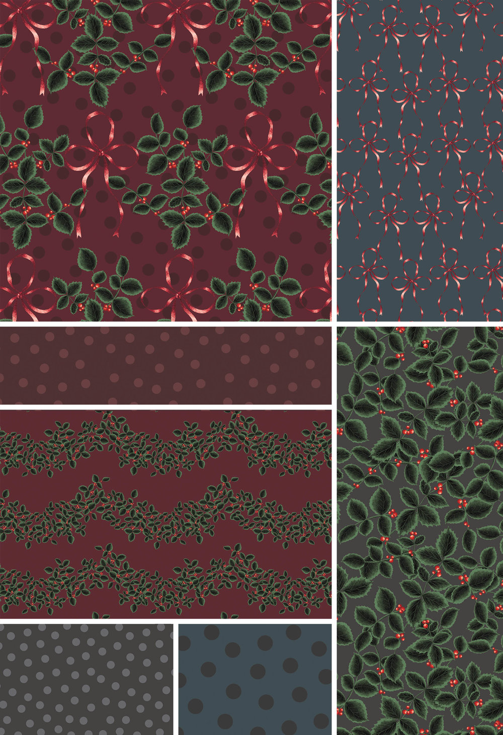 VARIEGATED HOLLY COLLECTION