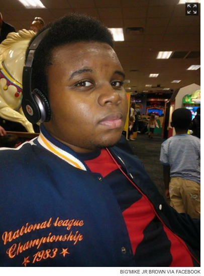 A Facebook image of Mike Brown from The New York Daily News