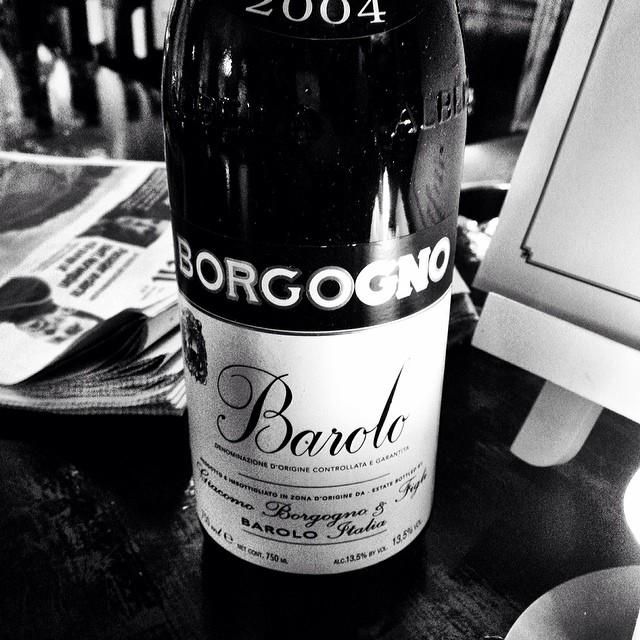 #barolo #2004 #enotecacollettsgate #torsdagskos