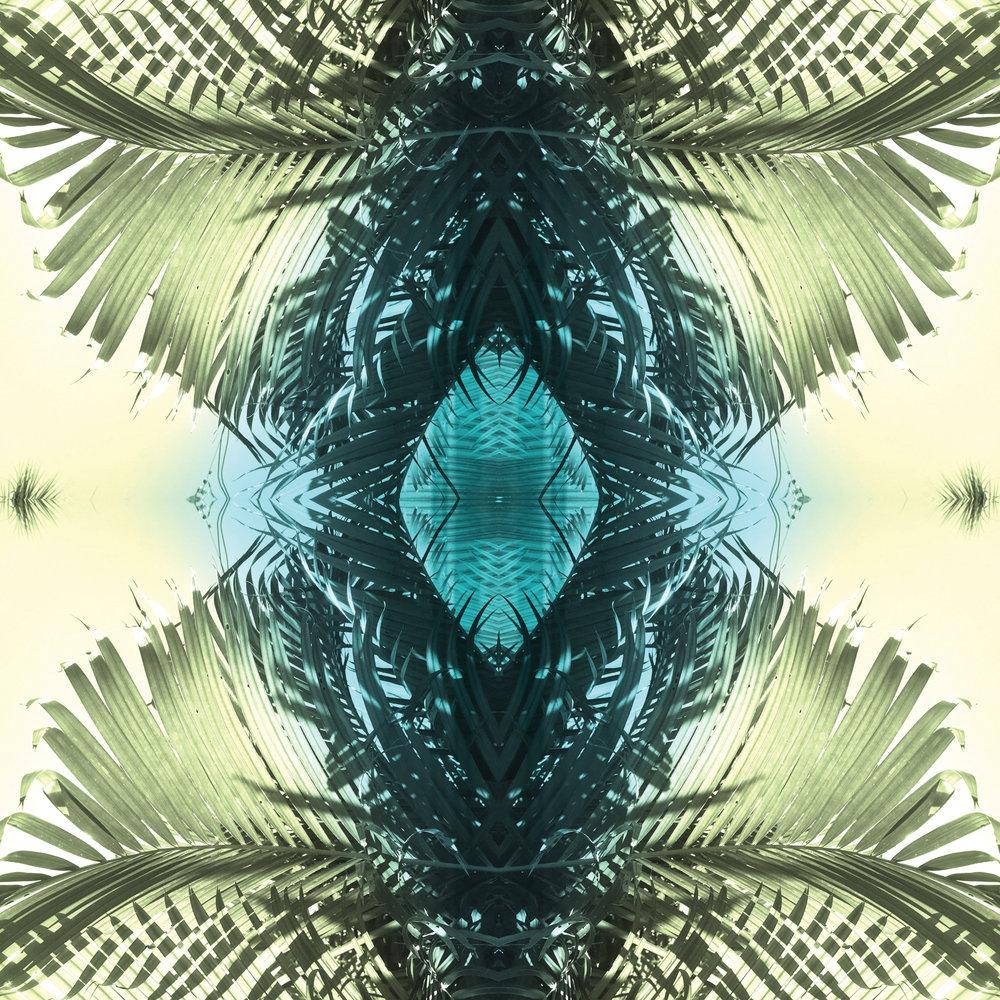 Green Palms 1 | Giclee Print by Stephanie Mill Artist | www.stephaniemill.com.jpg