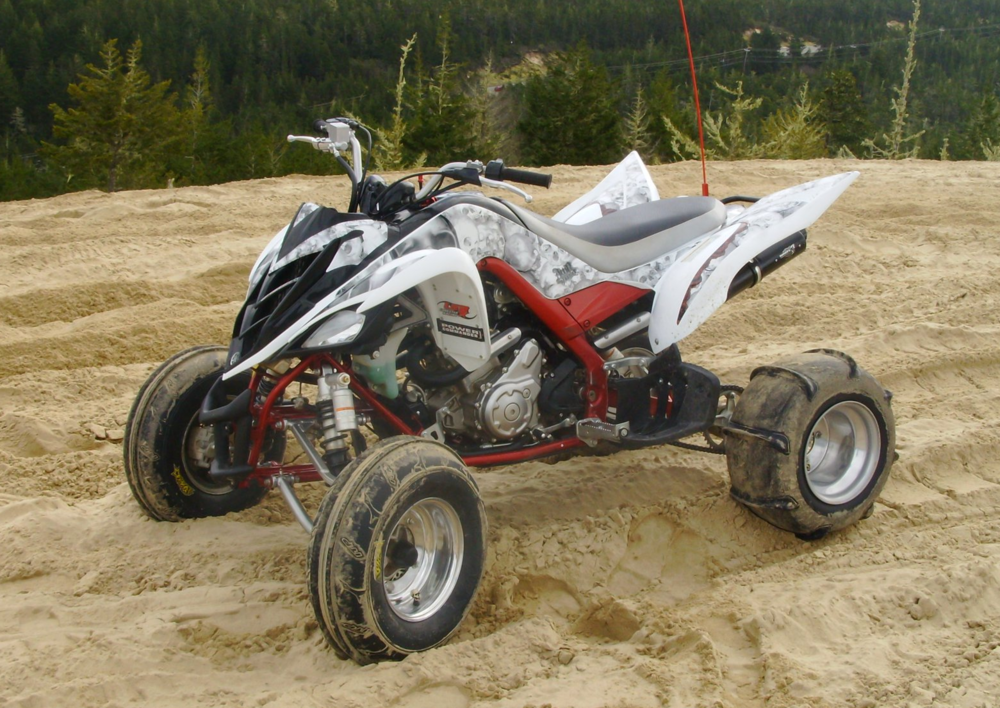 Josh's Raptor 700 is 727cc. It makes 67 hp/ 51 tq on pump gas. Portwork still to come.