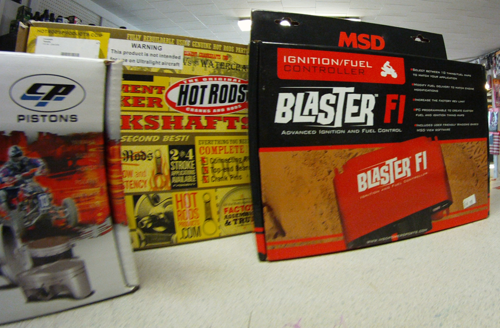 MSD Blaster Fuel / Ignition Programmers, HotRod Crankshafts, & CP Pistons