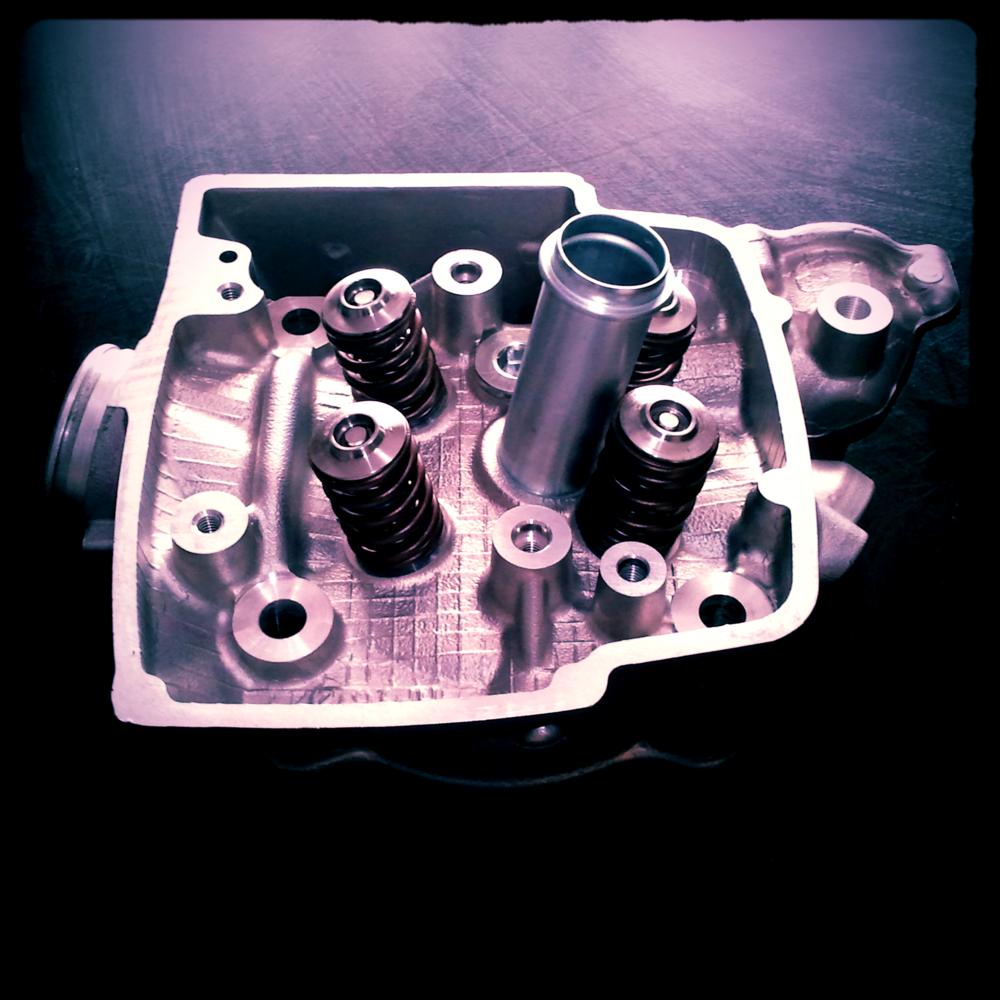 TRX450 Cylinder Head