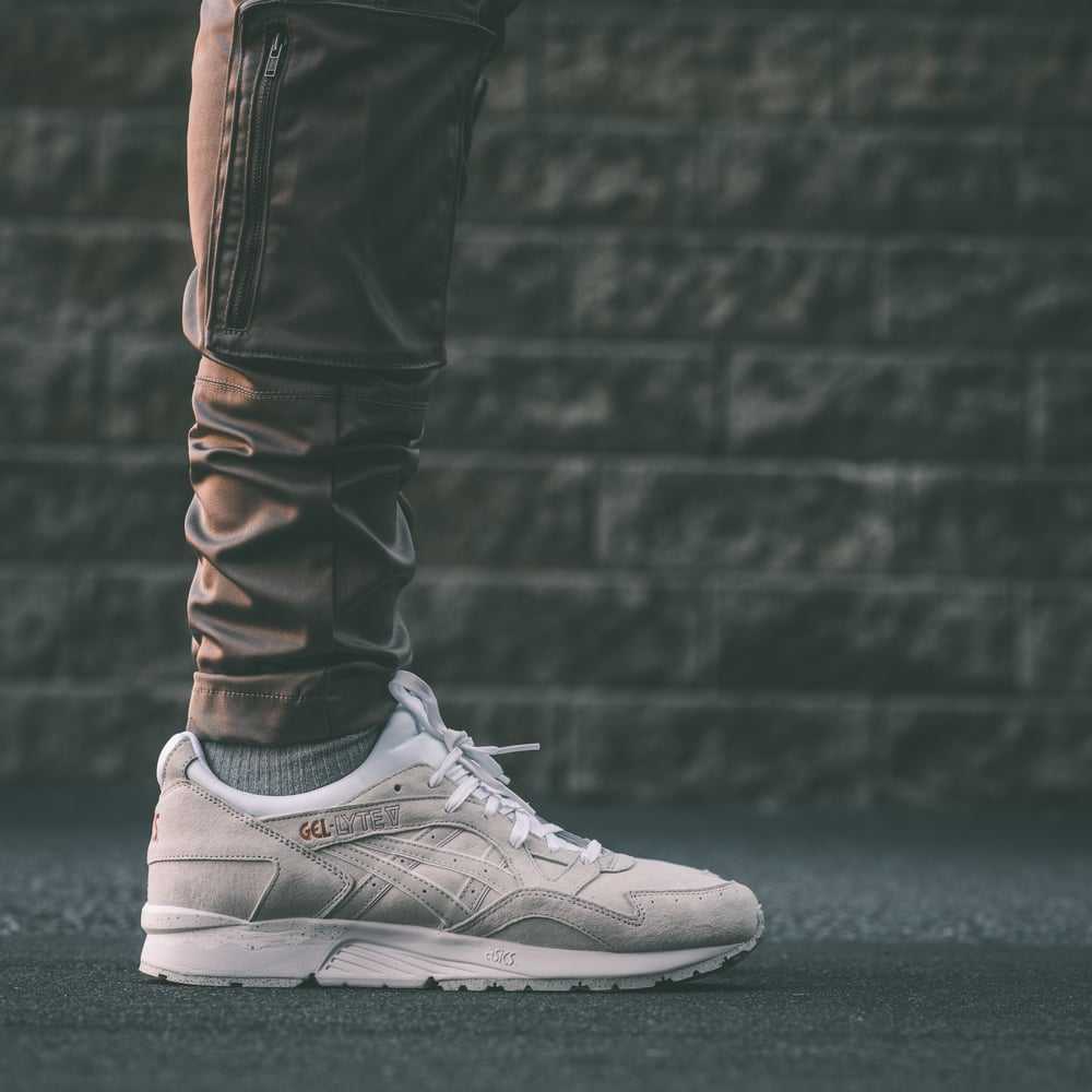 asics gel lyte v rose gold schoenen