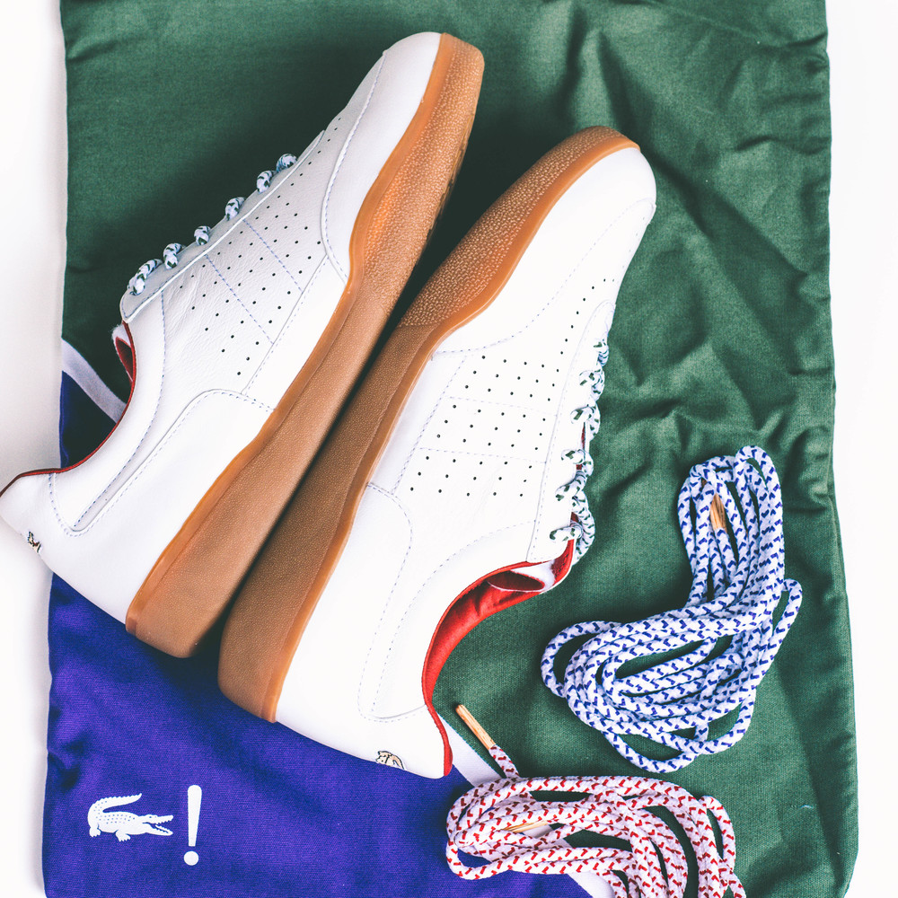 db158372b3401 With Lacoste celebrating the 30th Anniversary of their Dash silhouette,  they have come together with Addict Miami for a limited release.