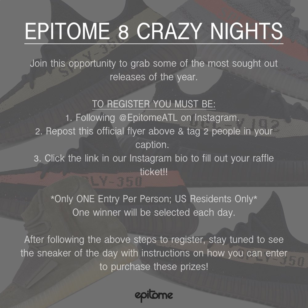 Join Epitomes Eight Crazy Nights Epitome