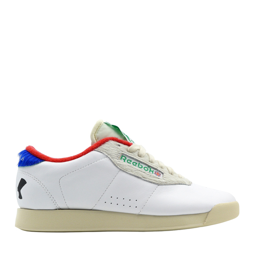 REEBOK X MELODY ESHANI - M.E. PRINCESS(WHITE/PRIMAL RED/BLUE) $100.00