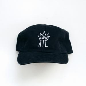 PAPIZ ATL - CROWN DAD HAT (BLACK)    $35.00