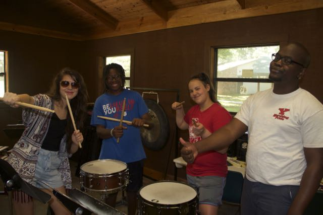 The Percussion Studio was hard at work all summer at Conservatory!