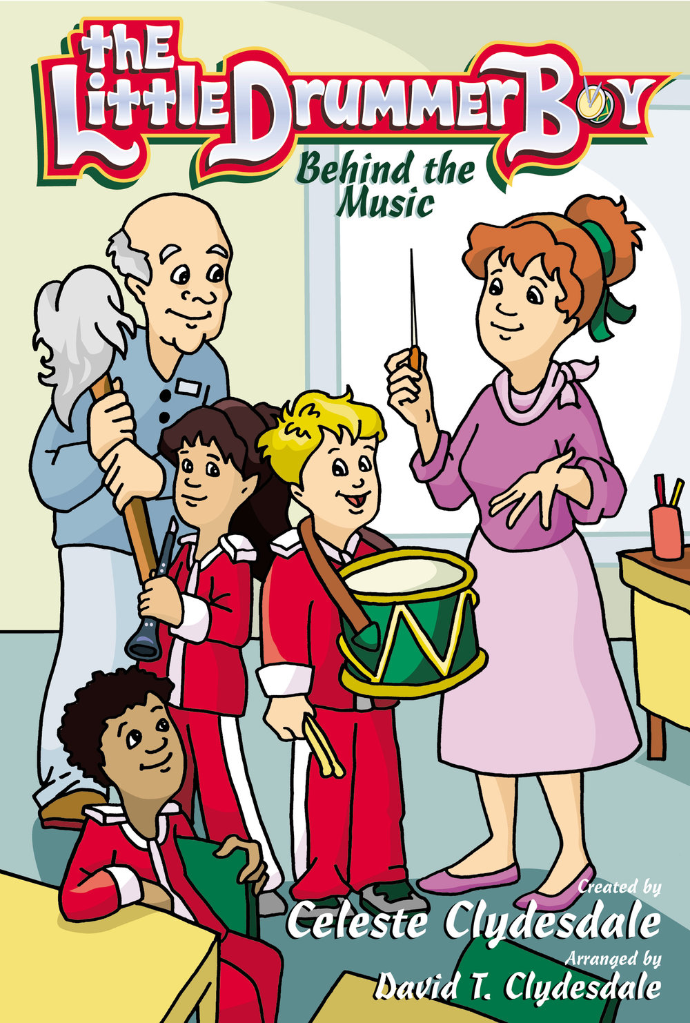 """From dynamic children's writer Celeste Clydesdale comes this upbeat, heartfelt musical, just in time for Christmas! Michael, """"the little drummer boy,"""" attends Calvary Christian School, where he plays in the band. The students are getting ready for the Christmas parade under the direction of their new music teacher, Mrs. Newman. Through her help, and the help of the school janitor, Mr. Jenkins, Michael realizes that he needs a """"tune-up"""" and he learns that we are God's instruments of praise. When we surrender our lives to God and allow Him to be the song in our hearts, He will use us for His glory."""