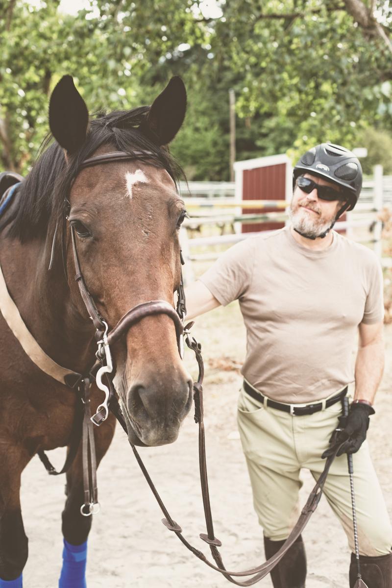 Calynda & my dad, Rick.
