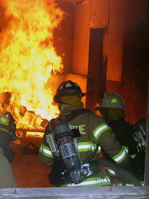 Structural Firefighting The Training Ground