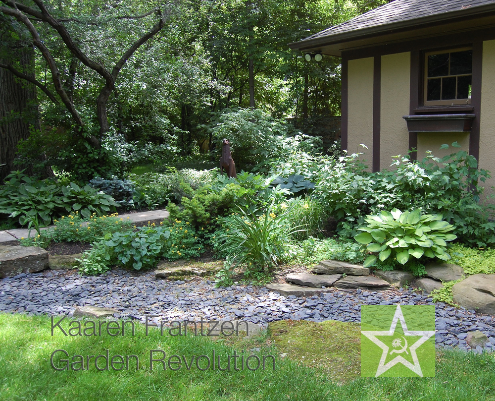 Dry Bed Solution To Backyard Flooding, Directing The Flow Of Water To A  Hidden Pump
