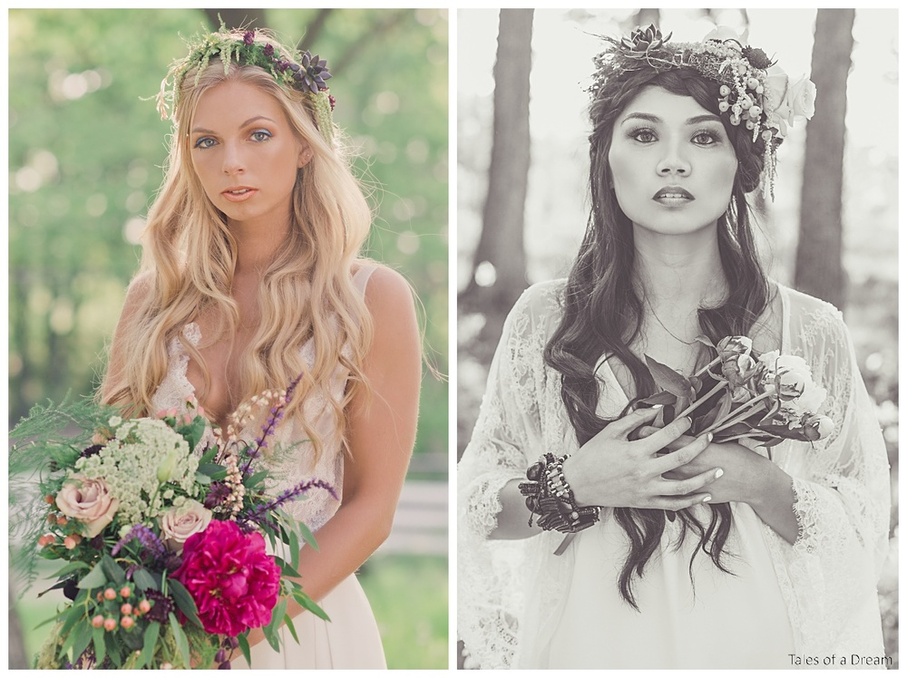 Mackenzie & Ami did an amazing job posing for us and looked so ethereal.