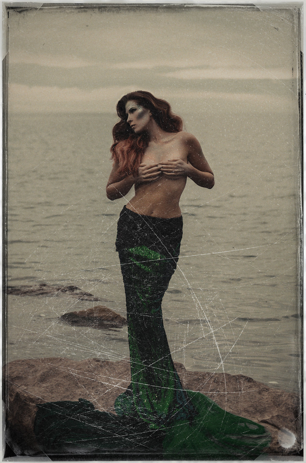 I must be a mermaid...I have no fear of depths anda great fear of shallow living. - - Anais Nin