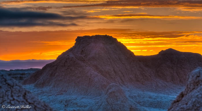 Sunrise Peak Badlands National Park