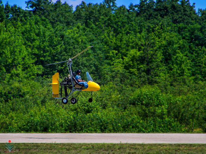 The Yellow Gyro - Fryeburg Airport