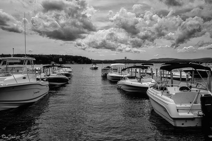 Wolfboro Dock on Winnipesaukee