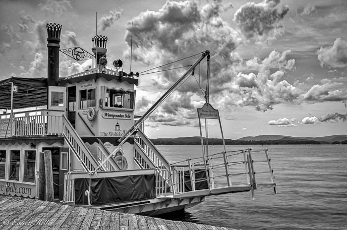 Winnipesaukee Belle at the Docks