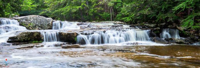 Jackson Upper Falls - Wildcat River