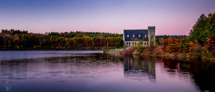 Stone Church at Dawn - West Boylston