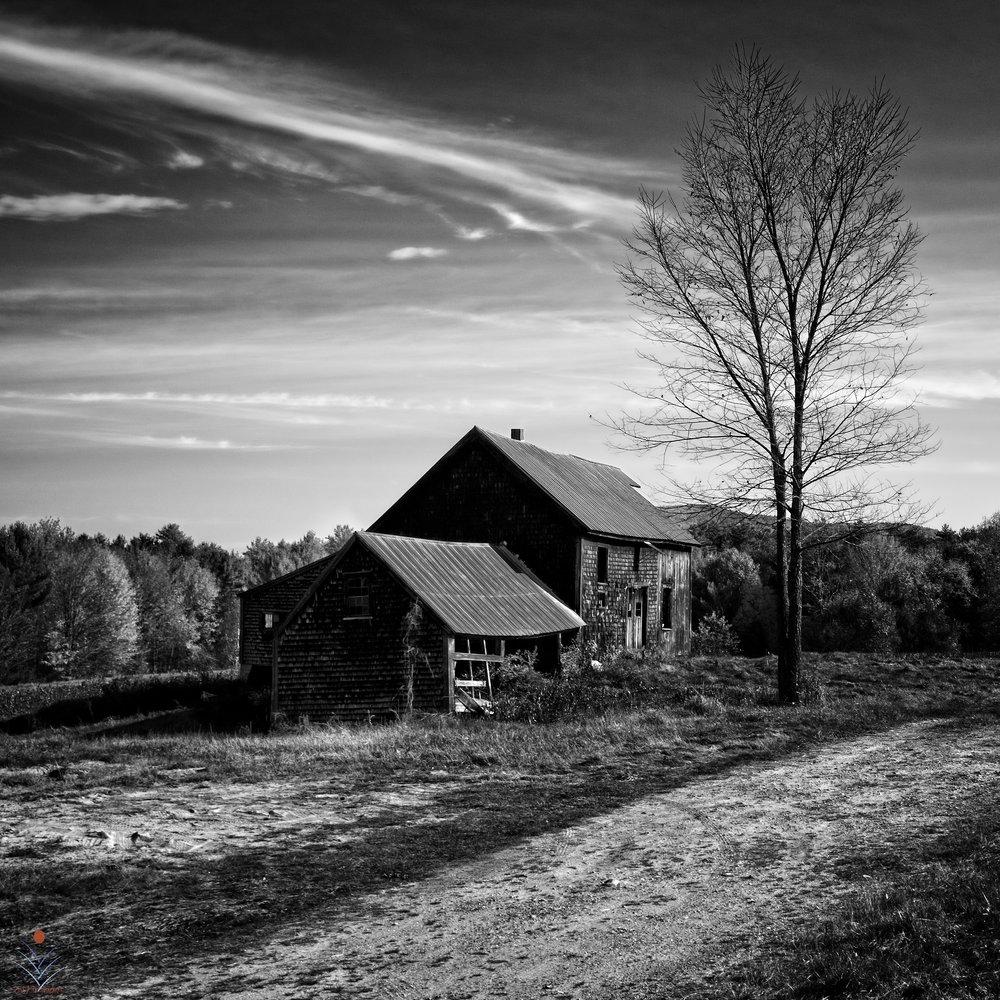 Abandoned Ossipee Farm House - Route 16
