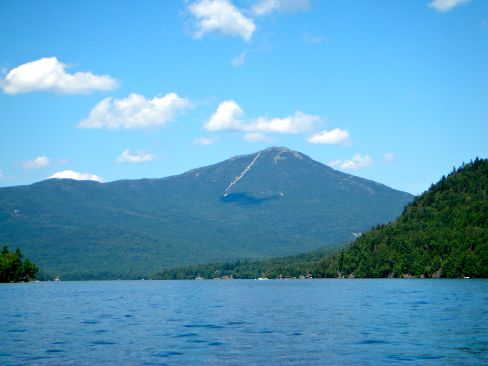 Whiteface Mountain from East Lake Lake Placid