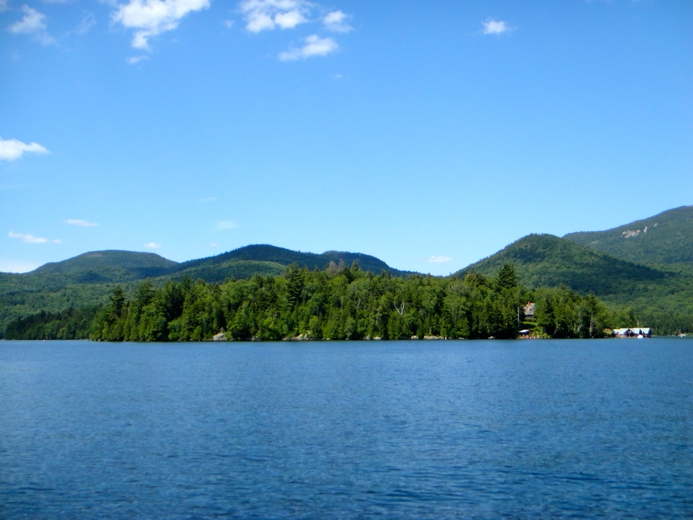The view on Lake Placid