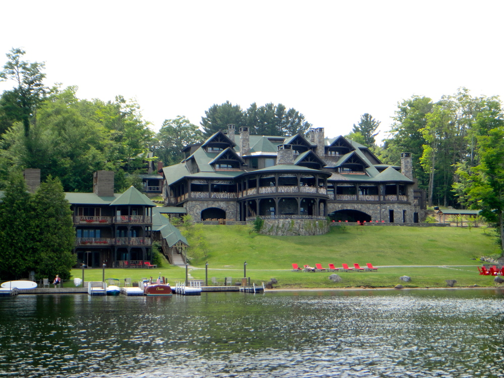 The Lake Placid Lodge on Lake Placid