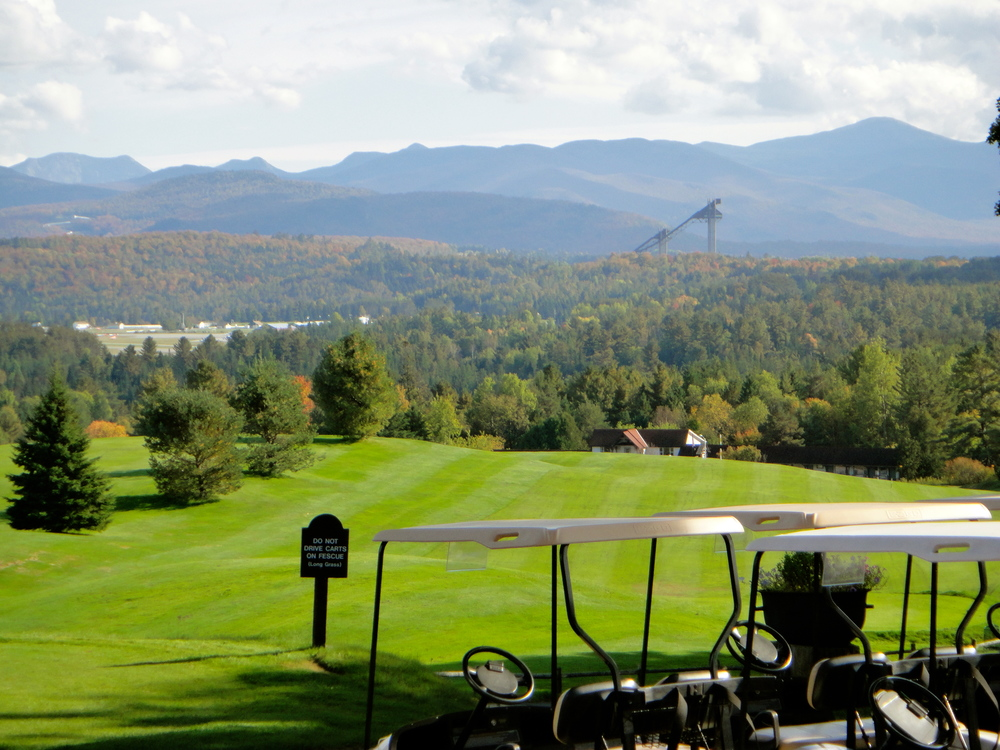 Lake Placid Club Resort golf course