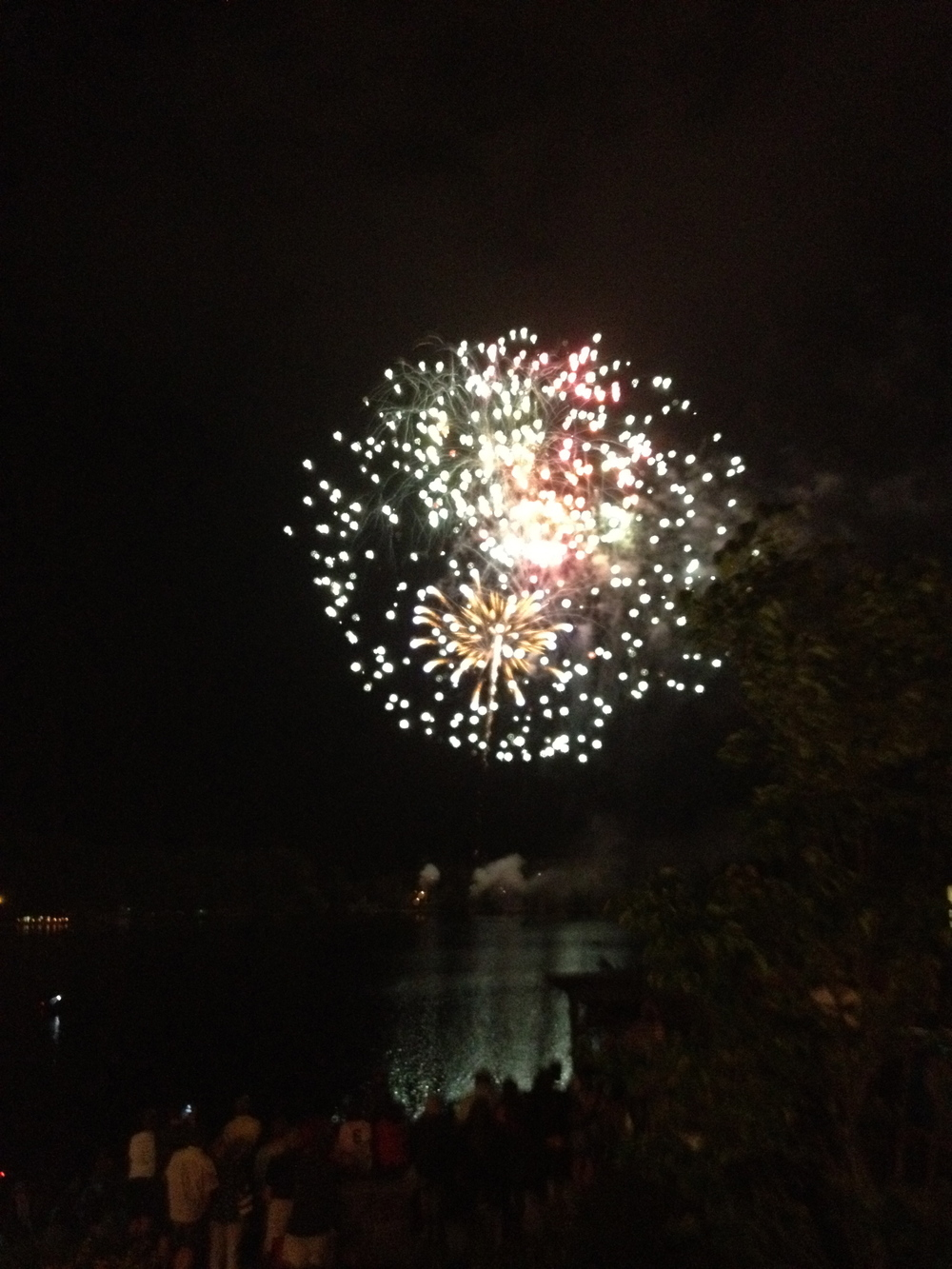 July 4th Lake Placid fireworks