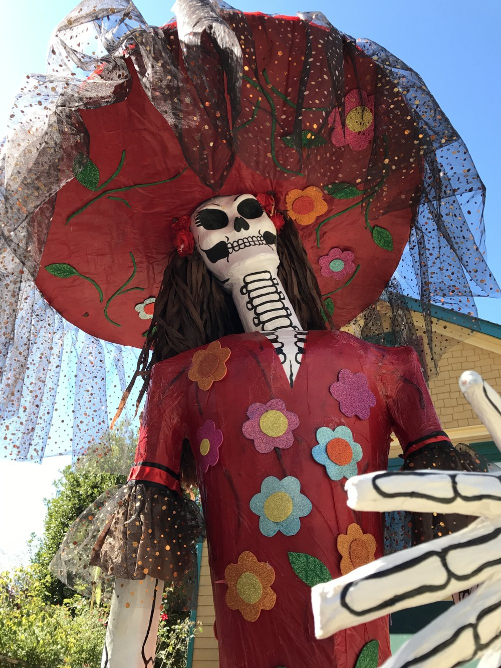 Day of the Dead Scarecrow.