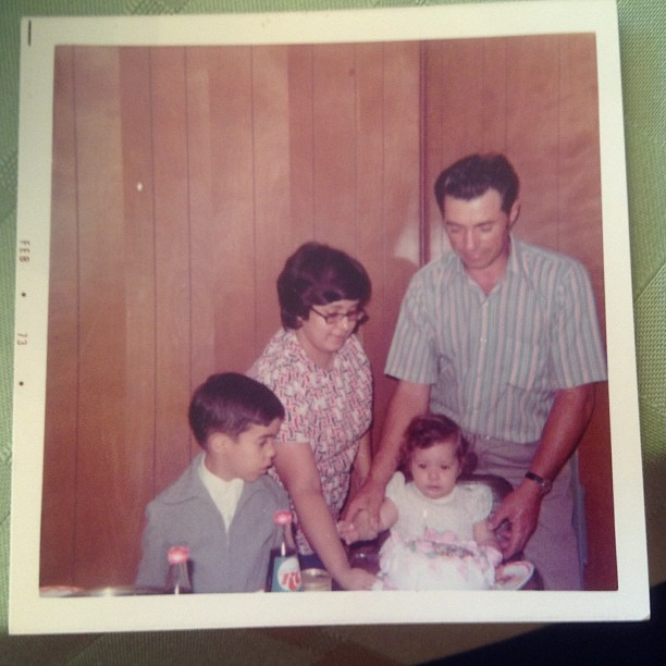 my first birthday with dad