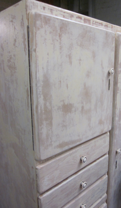 painted cupboard (detail)