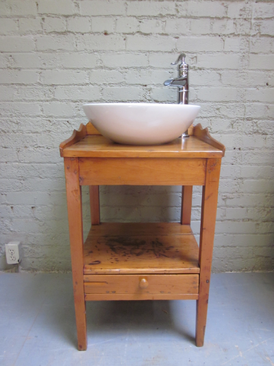 antique refinished washstand