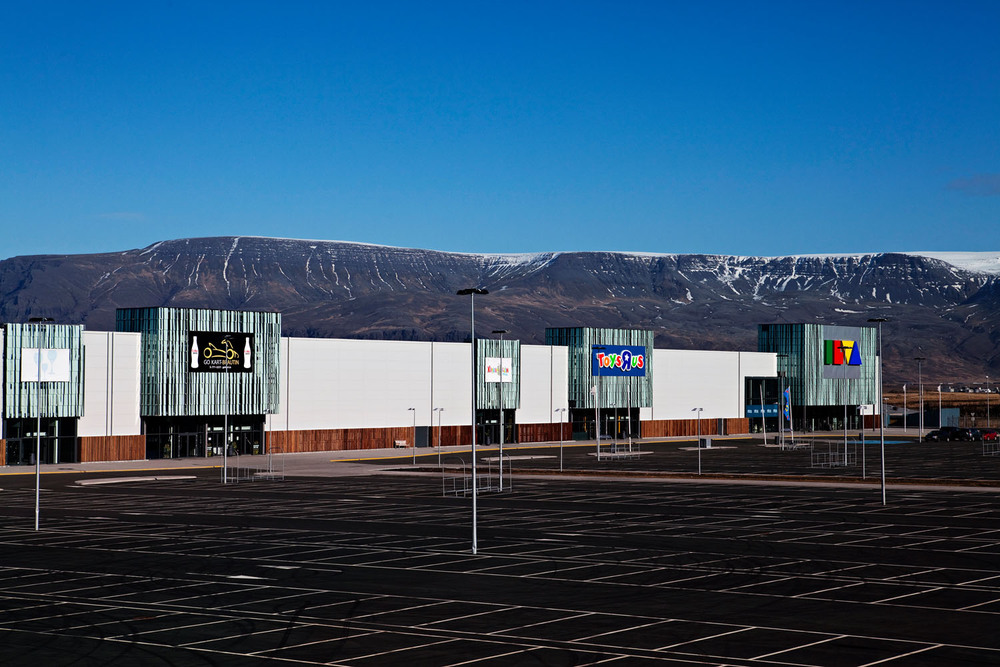 """Krepputorg"" (meaning crisis-mall) is the nickname of the most oversized shopping mall in Iceland because it was built just before the collapse."