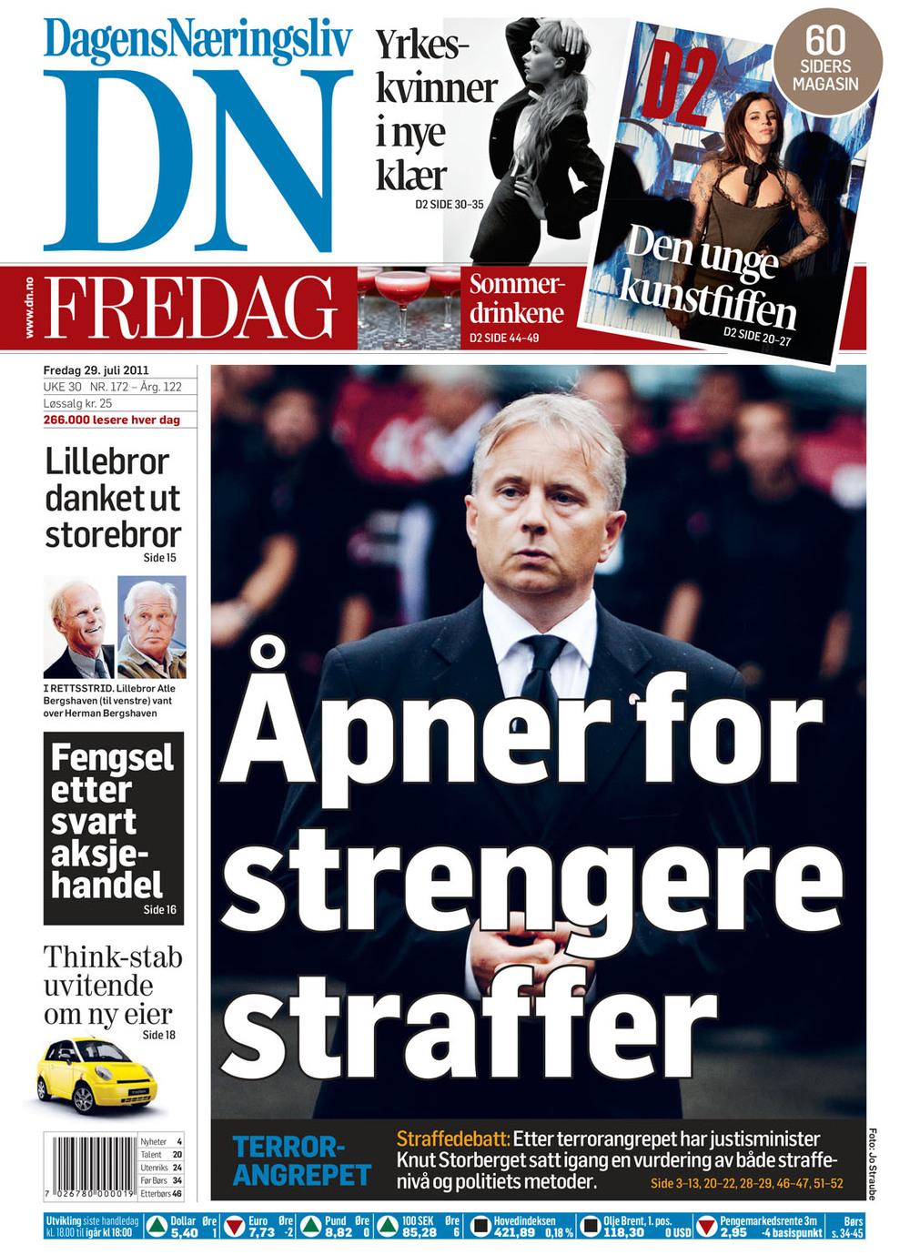 Dagens Næringsliv 29.7.2011