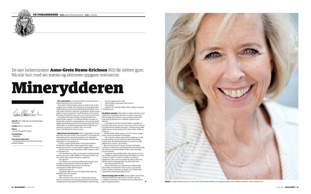 Dagbladet Magasinet 17.7.2010
